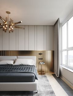 Brass headboard panels