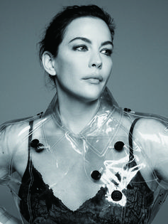 Liv Tyler wearing Burberry, photographed by Jumbo Tsui for the December issue of Madame Figaro China