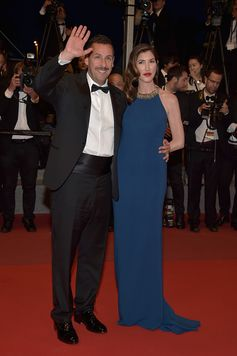 Perfect red carpet for Adam Sandler with his Tod's Lace-up at the 70th Cannes Film Festival. #Cannes2017 #CannesFilmFestival #Tods