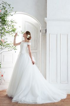 [dress:NOVARESE BTNV192]  weddingdress weddingday white princess