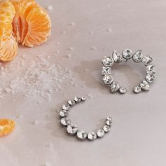 Crystal jewelry to shine through the holiday haze.