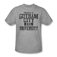 Gotham City University t-shirt (medium)
