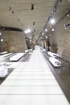 The Louis Vuitton Spring-Summer 2018 Collection by Nicolas Ghesquière was presented during Paris Fashion Week at the Crypt of the Sphinx inside the Musée du Louvre. Watch the show now at louisvuitton.com