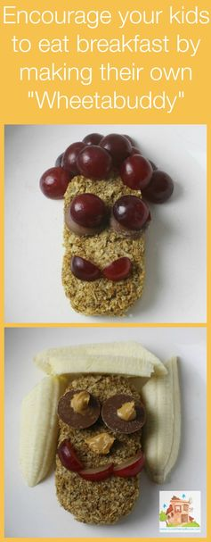 Encourage your kids to eat breakfast. Wheetabuddies - it is OK to play with your food! - Mum In The Madhouse.