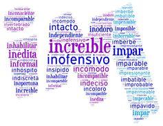 Palabras que empiezan por IN- y IM- | Más materiales en www.profedeele.es y www.fb.com/PracticamosEspanol