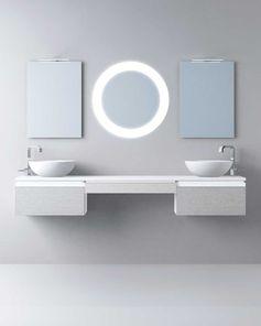 Muebles de baño de diseño moderno y contemporáneo. Muebles de baño fabricados para proyectos a medida . Fabricaciones especiales en medidas y materiales. Muebles de baño compactos o modulares. Lavabos y encimeras en materiales y diseños diversos.