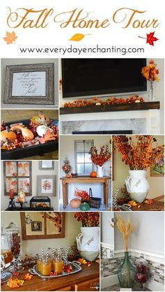 Fall Home Tour | www.EverydayEnchanting.com