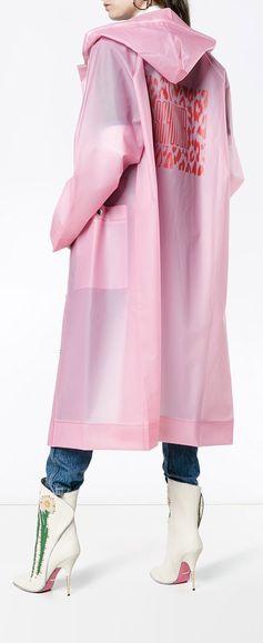 PROENZA SCHOULER PSWL Raincoat, explore new season Proenza Schouler on Farfetch now.