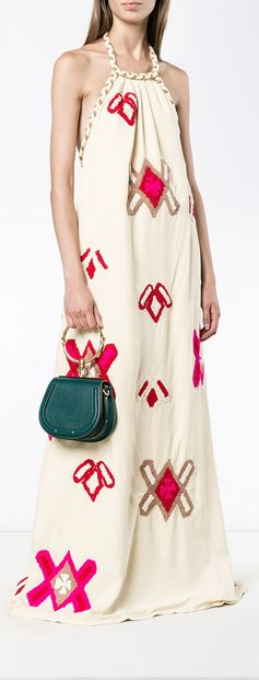 There's no doubt about it, the halter is a staple number that should be in every woman's summer dress collection. Get your embroidered dress with Mochi. Browse the Lila embroidered dress.