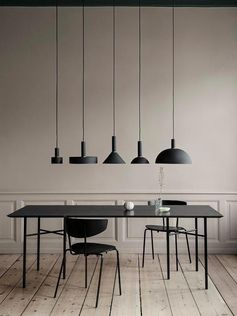 Disc Shade in Black design by Ferm Living #housedesigns