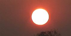 Le soleil, promesse de l'aube...