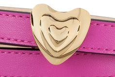 Leather Heart Belt