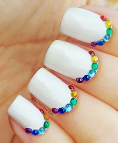 Rainbow Nails: Shine Bright