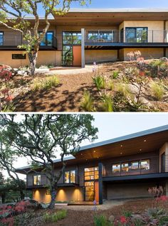 Before & After – This Dated House Was Transformed Into A Contemporary California Home