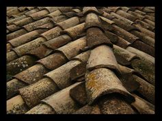 Roof tiles by gbeli