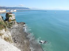 View from Vietri sul Mare in December.