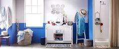 Idées déco - Salle de bain déclic Bleu
