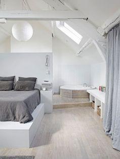 5 idées pour aménager ses combles en une belle suite parentale… | www.decocrush.fr