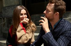 Backstage moments with Andreea Diaconu and Derek Blasberg in Tod's Fall-Winter total looks. #TodsStory #AndreeaDiaconu #DerekBlasberg