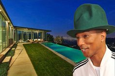 Pharrell dropped $7M on this spectacular skyline home designed by Belzberg Architects.