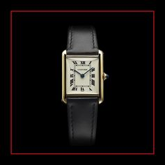 """Designed and worn by Louis Cartier himself, the """"Tank Louis Cartier"""" set the standard for all Tank watches."""