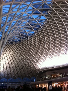 We love the amazing roof at Kings Cross