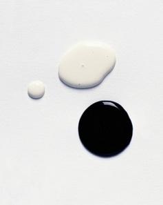 Black & White | Liquid paint