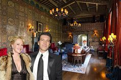 Melanie Griffith and Antonio Banderas's mansion is the most expensive ever sold in Hancock Park.