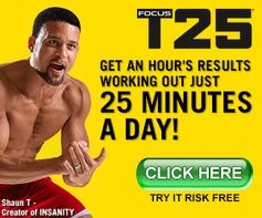 GET AN HOUR'S WORTH OF RESULTS IN JUST 25 MINUTES!