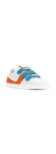 FENDI colour-block sneakers, explore new season sneakers on Farfetch now.
