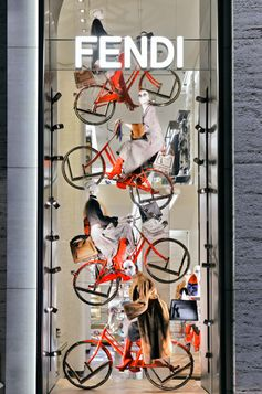 The Fendi Bici has taken over Madison Ave in NY! Drop by or find more on Fendi.com