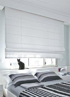 tipos de cortinas de rolo para quarto