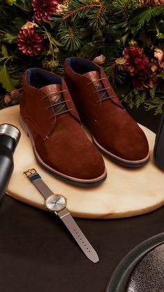 Ted Baker's quality men's footwear offers a solution for any gifting dilemma.