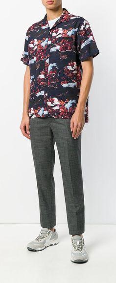 Lanvin DInosaur Island Print Shirt