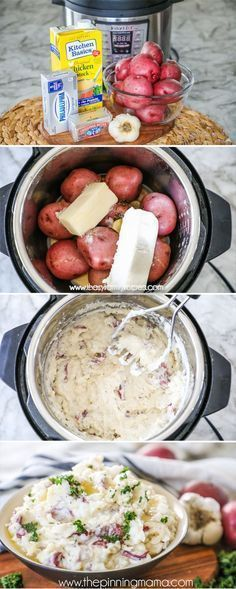 One of the best uses for the Instant Pot is making Mashed Potatoes! They cook qu... #cook #Instant #Instantpotdesserts #making #Mashed #Pot #Potatoes #qu