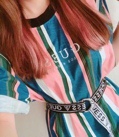 "MIKAKO (@8mikako1) on Instagram: ""#LoveGUESS #GUESS #summer #ootd #model #fashion#패션#귀여운"""