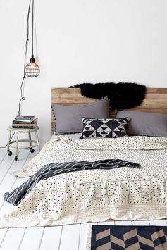 Bedroom colour palette + patterns