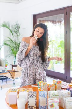Blogger Peony Lim shares her travel diary from the trip with Aerin Lauder to Mexico for her newest fragrance, Hibiscus Palm.
