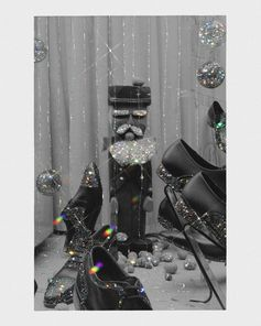 From Bally: best wishes for joyous and always glimmering festivities. _ @Sara Shakeel