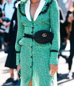 GUCCI GG Marmont matelassé belt bag, explore new season Gucci on Farfetch now.