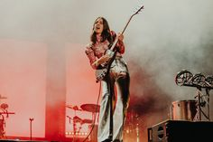 HAIM playing at Primavera Sound 2018.  Photo by Kimberley Ross