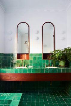 Loving the Green Tiles