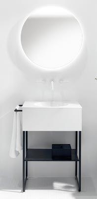 Très urbaine, la collection de meubles de salle de bains Coco de Burgbad joue…