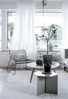 Fresh home with lots of style - via Coco Lapine Design