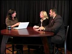 Nicholas Diaz and Susan Haynes, Creators of ILearn Academy on Talented People Television. Jeanne Murphy, Host of Talented People interviews ...