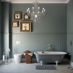 Retro Victorian Bathroom