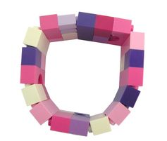 Kawaii Pink and Purple bracelet - made from LEGO® bricks on stretchy cords - Harajuku - FRUiTS Japanese Fashion magazine - Cosplay or Collectible bracelet Model 20 - made from LEGO® bricks on stretchy cords REMINDER LEGO® is a trademark of the LEGO Group which does not sponsor, authorize or