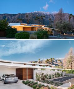 The Axiom Desert House Draws Inspiration From Mid-Century Modern Design