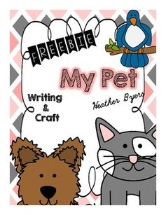 My Pet: Desk BuddyDesk Buddies are a unique writing and craftivity product.Each monthly packet will have at least 4 different desk buddy crafttivities.  Each desk buddy also comes with 5 different writing pages. *circle thinking map*5 senses writing box page*Can, Have, Are map*Story map-topic, details 1,2,3, closing*Themed lined writing pageThese pages can be used as daily writing pages in a writing center, time fillers, morning work, homework, or for early finishers.The different types of ...