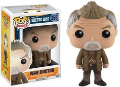Funko POP Television: Doctor Who - War Doctor Action Figure Funko